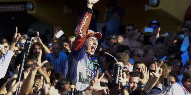 Jorge Lorenzo, campeón del Mundo de
