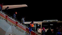 Ya están en España los primeros refugiados procedentes de
