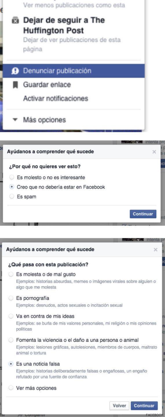 Facebook, contra las noticias falsas: así se usa su nueva herramienta