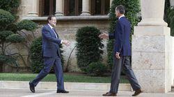 Rajoy, tras reunirse con el rey: