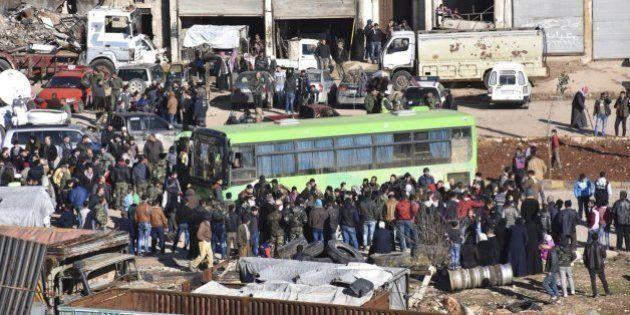 Gobierno sirio y oposición pactan completar la evacuación de
