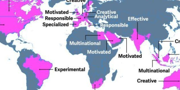 Cómo se define la gente por países en el trabajo: los españoles,
