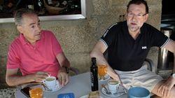 Rajoy en Galicia: Café, zumo, tostada y