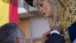 La Policía impone su máxima distinción a una Virgen de