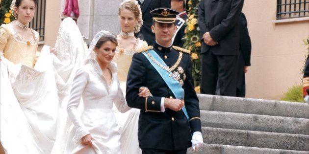 El diseño más famoso de Pertegaz: el vestido de boda de Letizia Ortiz