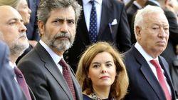El Gobierno, satisfecho con la gestión de Santamaría en la crisis del