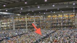 Así es Amazon por dentro y así empaquetan tu pedido (FOTOS,