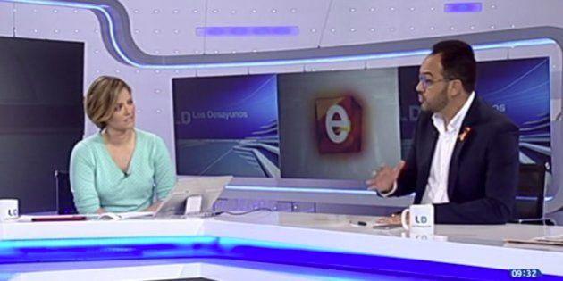 Pulla en directo de Hernando a TVE por las grabaciones de Fernández