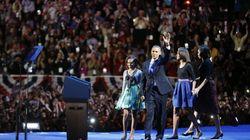 Obama celebra su victoria: