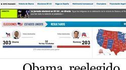 La victoria de Obama, en la prensa
