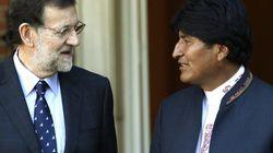 Rajoy garantiza a Evo Morales que Bolivia seguirá siendo prioritaria para
