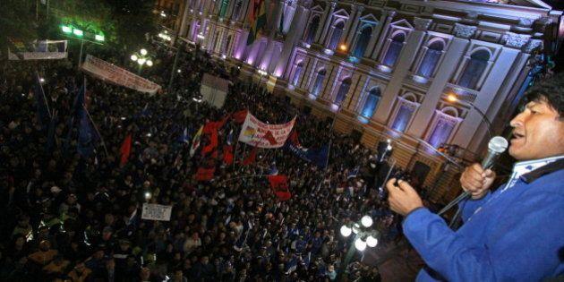 Evo Morales gana las elecciones de