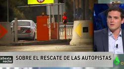Gabriel Rufián se mofa de la entrevista de Albert Rivera en 'La Sexta
