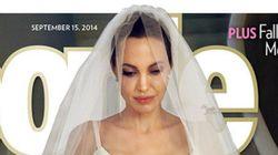 ¡Desvelado! Así fue el vestido de novia de Angelina Jolie