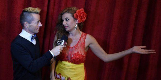 Oscar 2015: Sonia Monroy lleva a España por vestido