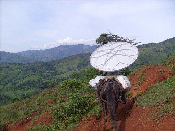 ¿Wifi en la selva? Cómo Internet llega a las regiones más remotas del