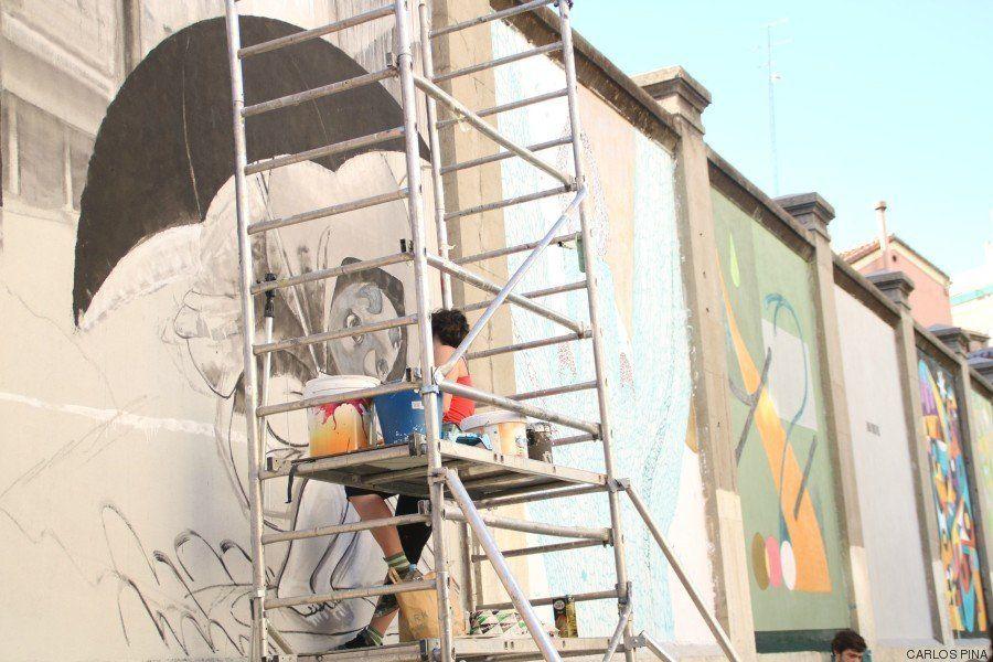 25 artistas reflexionan sobre la naturaleza urbana en los muros de la Tabacalera en