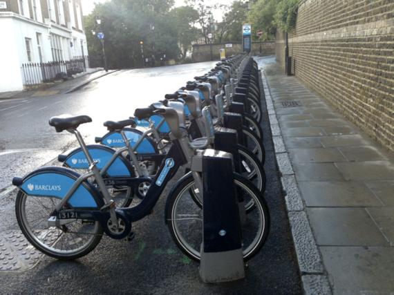 Londres. Dime qué bici llevas y te diré quién