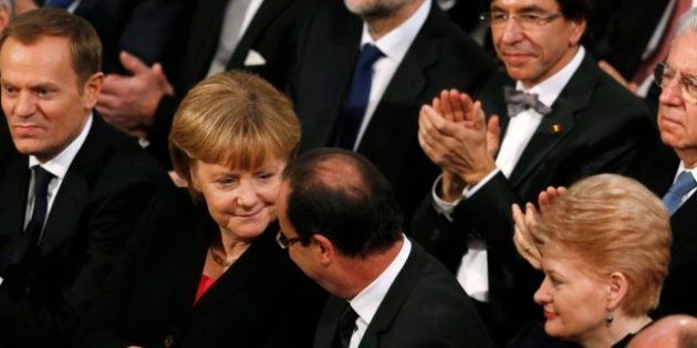 Premio Nobel de la Paz 2012: La UE reconoce que la crisis amenaza con enterrar los logros de 60