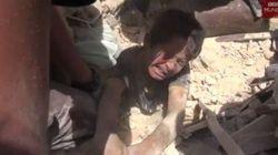 El rescate de Ahmad, un niño de Alepo atrapado bajo los escombros