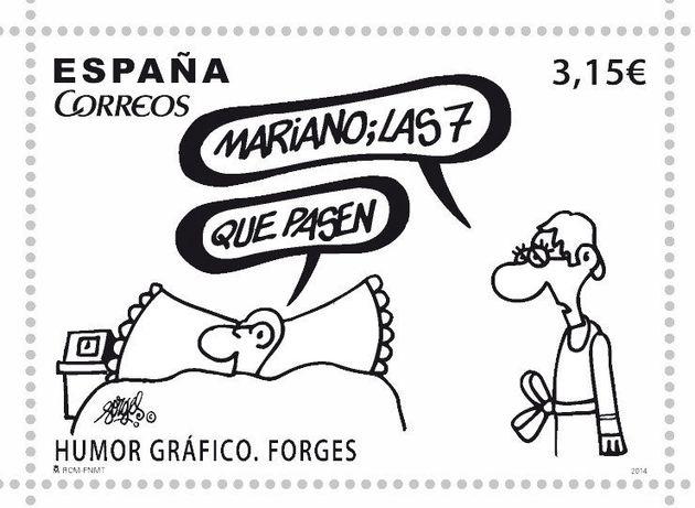 El sello de Forges que hará que te den ganas de volver a escribir