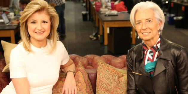 Lagarde apuesta por la igualdad salarial: entrevista de Arianna Huffington