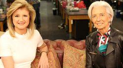 Lagarde, optimista con Grecia en una entrevista de Arianna Huffington