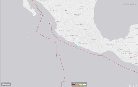 Terremoto en México de magnitud 7 en la escala de