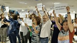Los trabajadores de TVE protestan por la