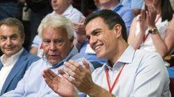 Sánchez y sus mayores: