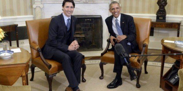 La broma que SIEMPRE hace Obama a Trudeau cuando cenan juntos: