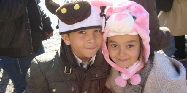Gorros de animales de peluche: la moda de la Navidad 2012
