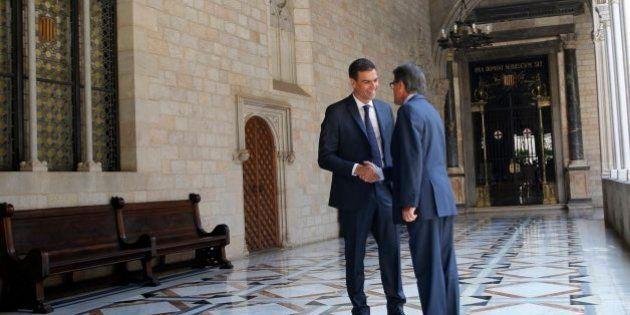 Rajoy, Mas y Sánchez no se mueven de sus posiciones de cara a la