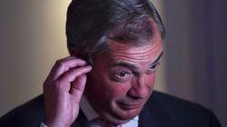 El feo comentario de Nigel Farage en su discurso tras la victoria del