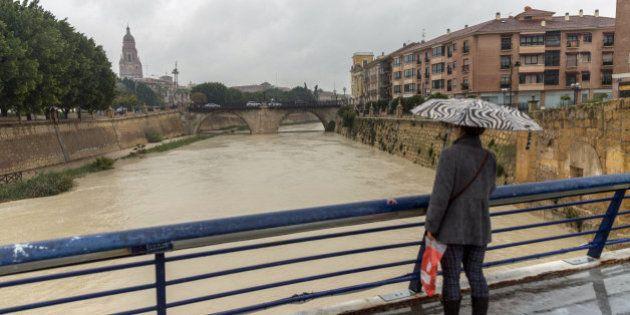 Muere un hombre en Murcia arrastrado por el