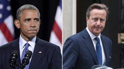 Obama y Cameron piden unidad ante la amenaza del Estado