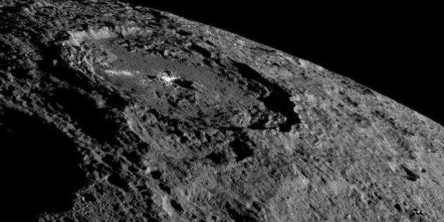 Ceres, el mayor asteroide del Sistema Solar, fue un mundo