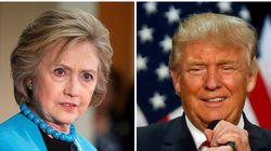 Clinton y Trump: historia de dos