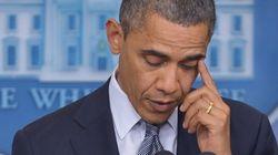 Obama, emocionado tras el tiroteo en Connecticut
