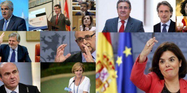 Nuevo Gobierno de Rajoy: entran Cospedal, Zoido, Nadal, De la Serna, Montserrat y