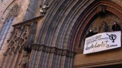 Encadenadas en Santa María del Mar contra la reforma del aborto