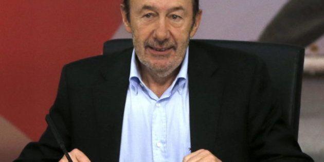 Rubalcaba promete una oposición más dura durante la reunión del Consejo