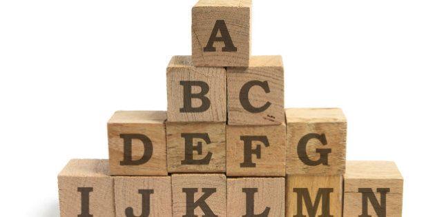 ¿Ves colores en estas letras? Puedes ser