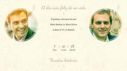 La investidura-boda de Sánchez y Rivera, según 'El Mundo
