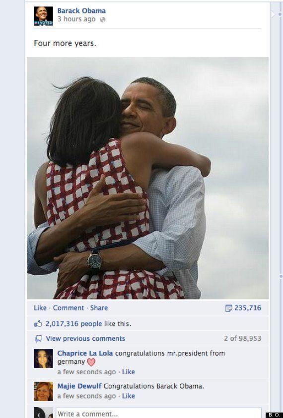 Récord de Obama en Twitter: bate a Justin Bieber con el mayor número de retuis por su