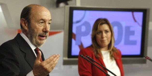 Rubalcaba seguirá haciendo oposición con el caso Bárcenas aunque Díaz pida un pacto a