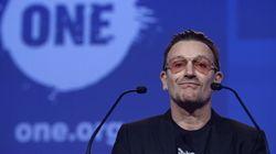 Bono, ante Rajoy y Merkel: