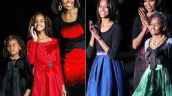 Cómo han cambiado las chicas Obama