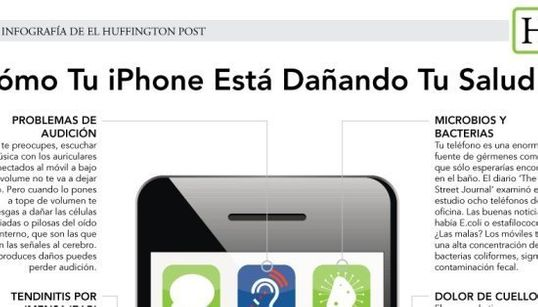 Cómo tu iPhone está dañando tu salud