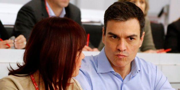 Sánchez prepara un discurso